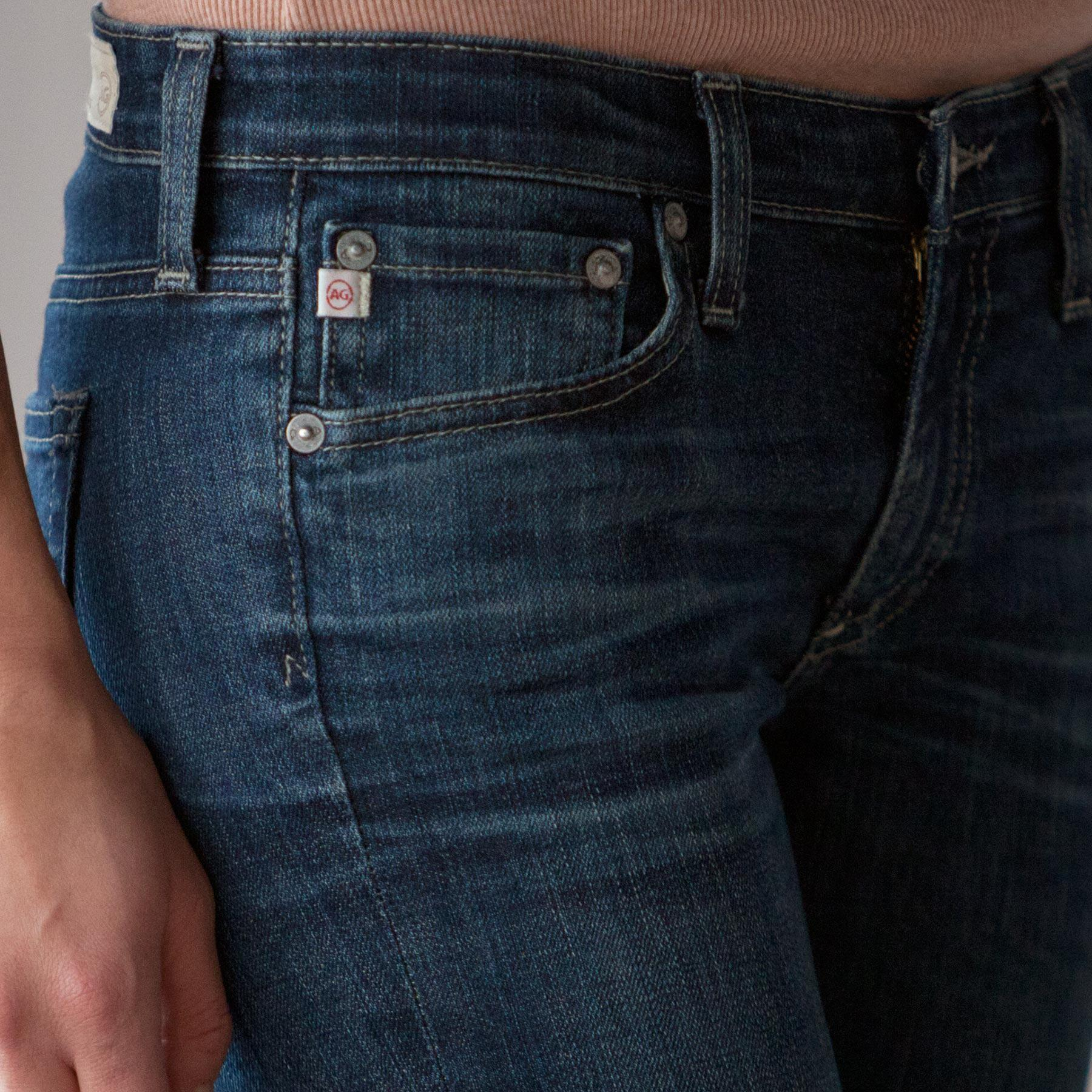 A G ANGEL BOOTCUT JEANS: View 4