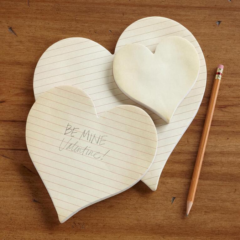 HEARTFELT STICKY NOTES