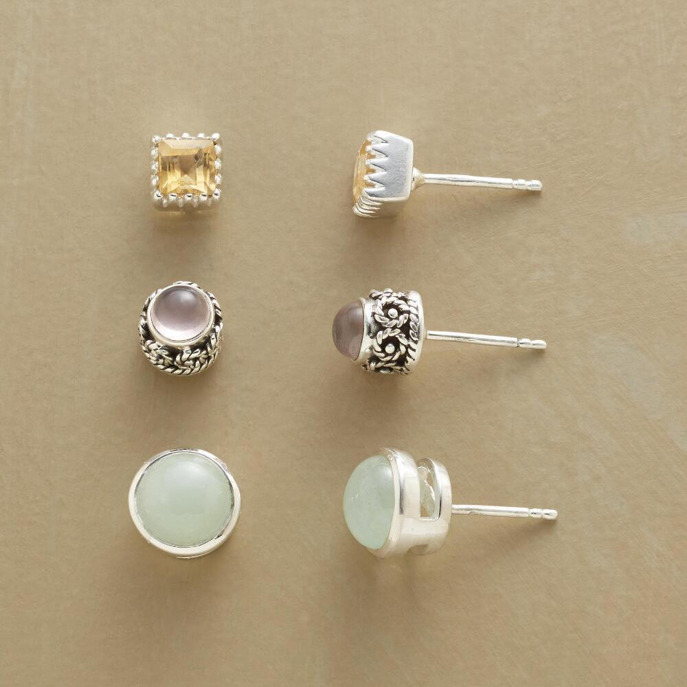 MELLOW MIX EARRING TRIO: View 1
