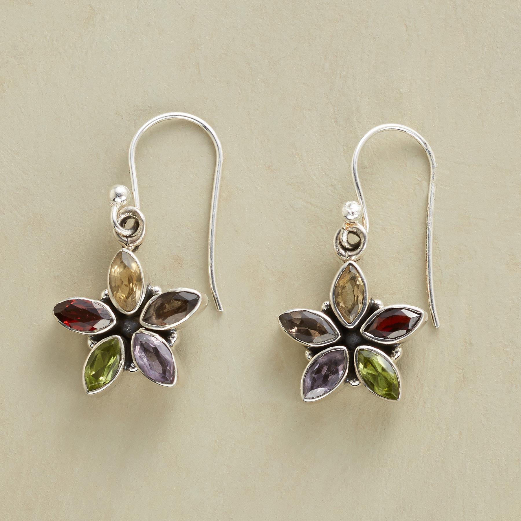 FLORAL FUSION EARRINGS: View 1