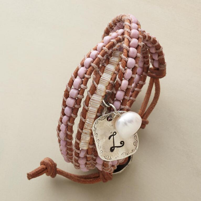 PERSONALIZED 3-WRAP BRACELET