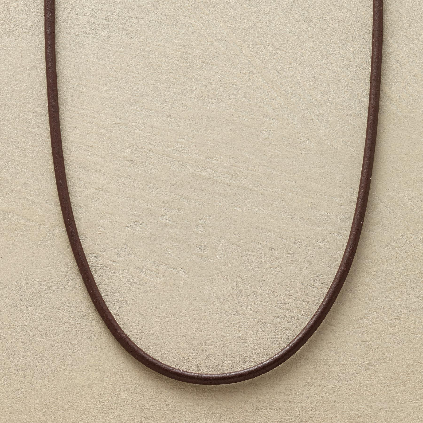 LEATHER NECKLACE: View 1