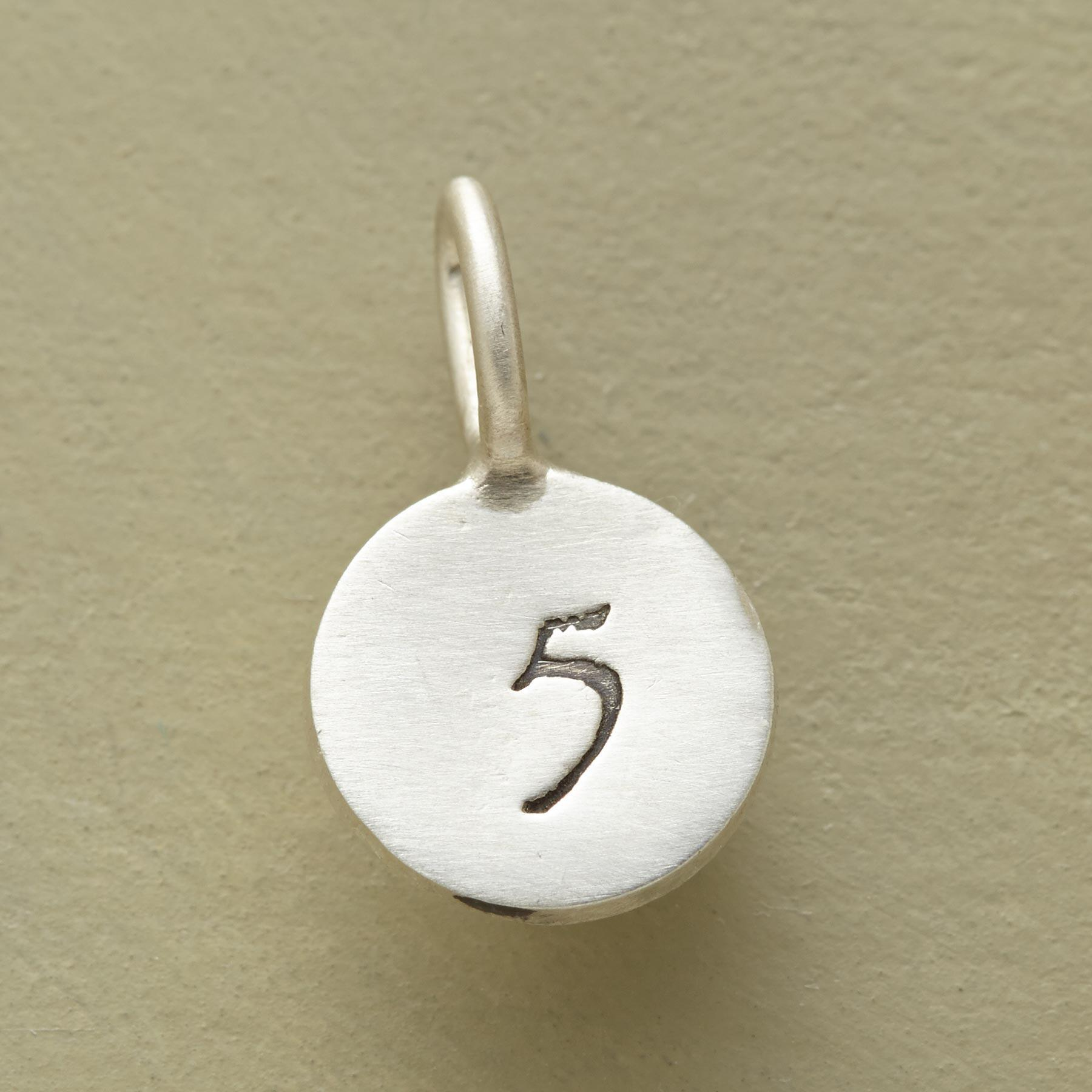 PERSONALIZED DISK CHARM: View 2