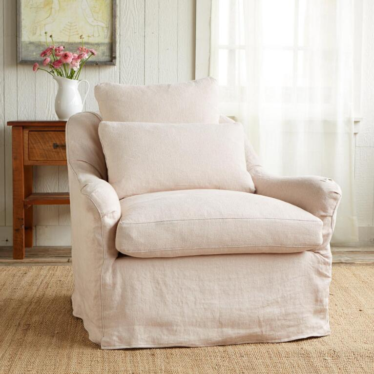 NOB HILL SLIPCOVER CHAIR