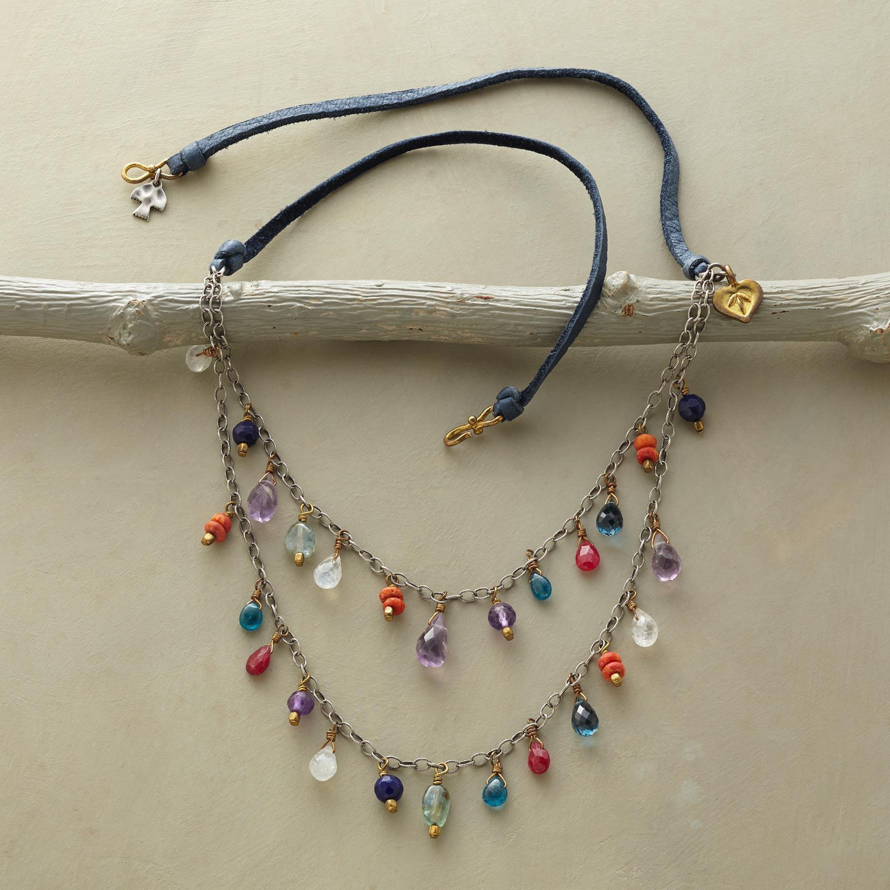 BLUE JEANS GIRL NECKLACE: View 2
