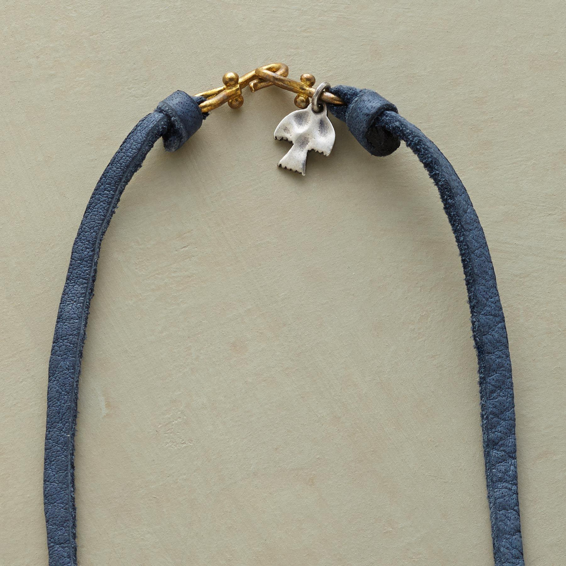 BLUE JEANS GIRL NECKLACE: View 3