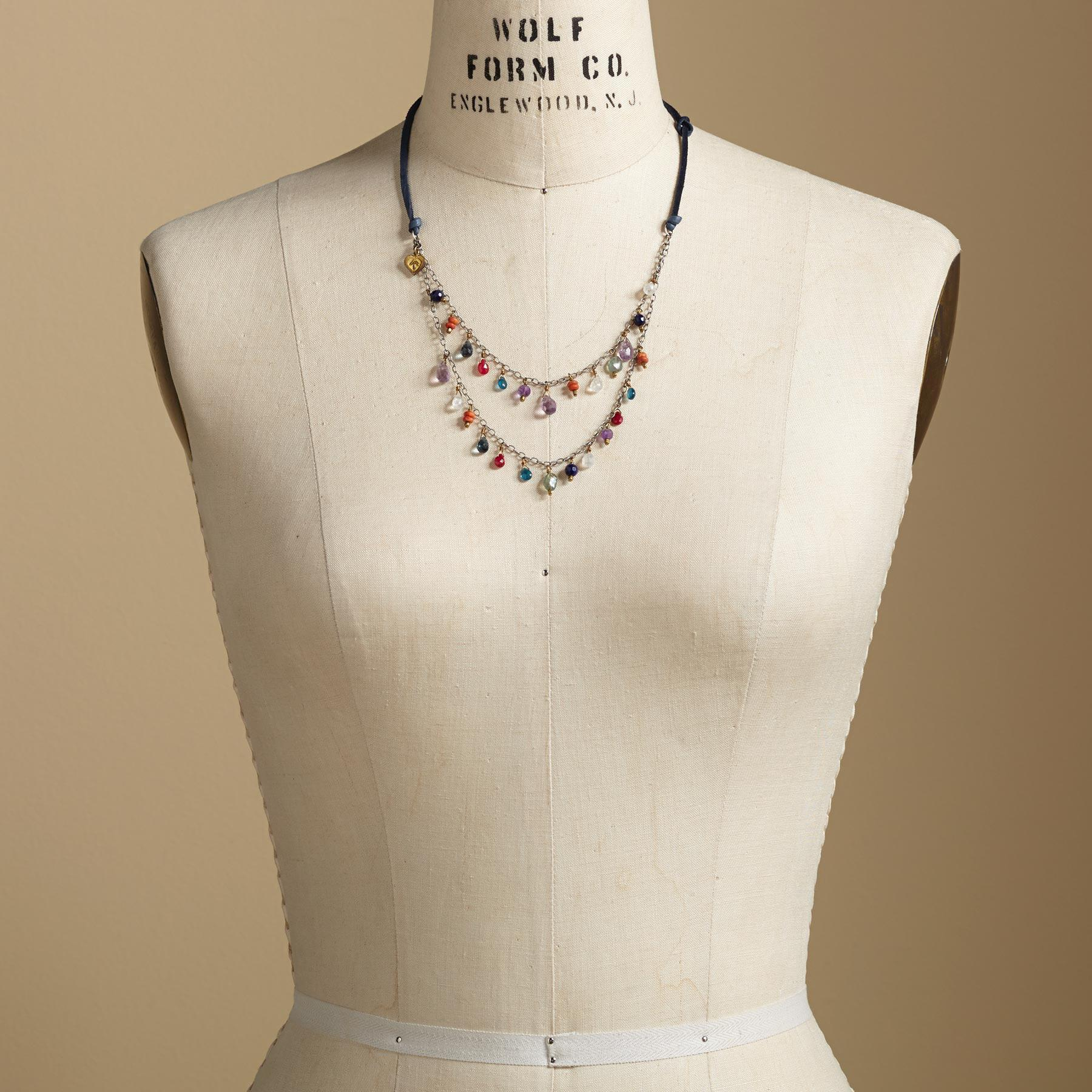 BLUE JEANS GIRL NECKLACE: View 4