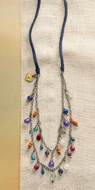 BLUE JEANS GIRL NECKLACE