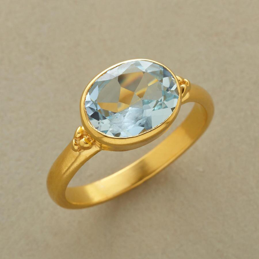 COOL BLUE RING