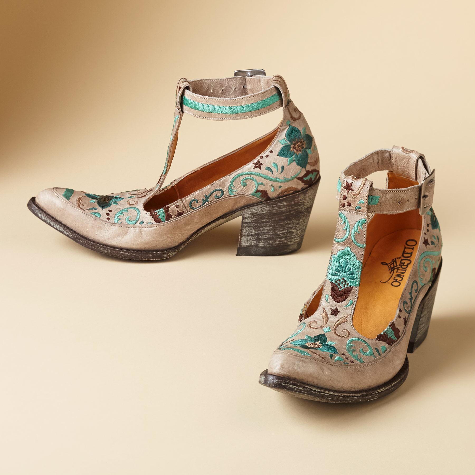 Old Gringo Deborah Rico T Strap Shoes