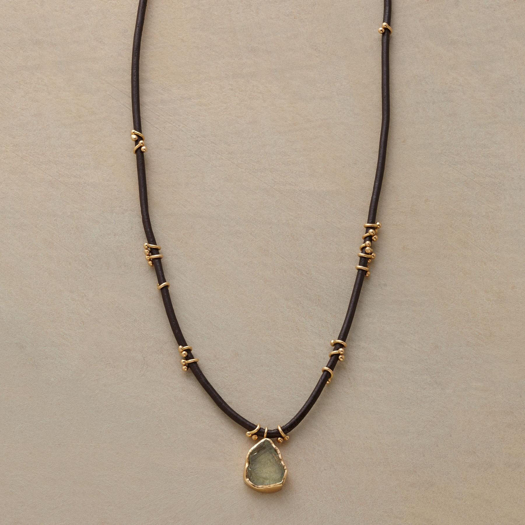 MONTANA SAPPHIRE NECKLACE: View 1