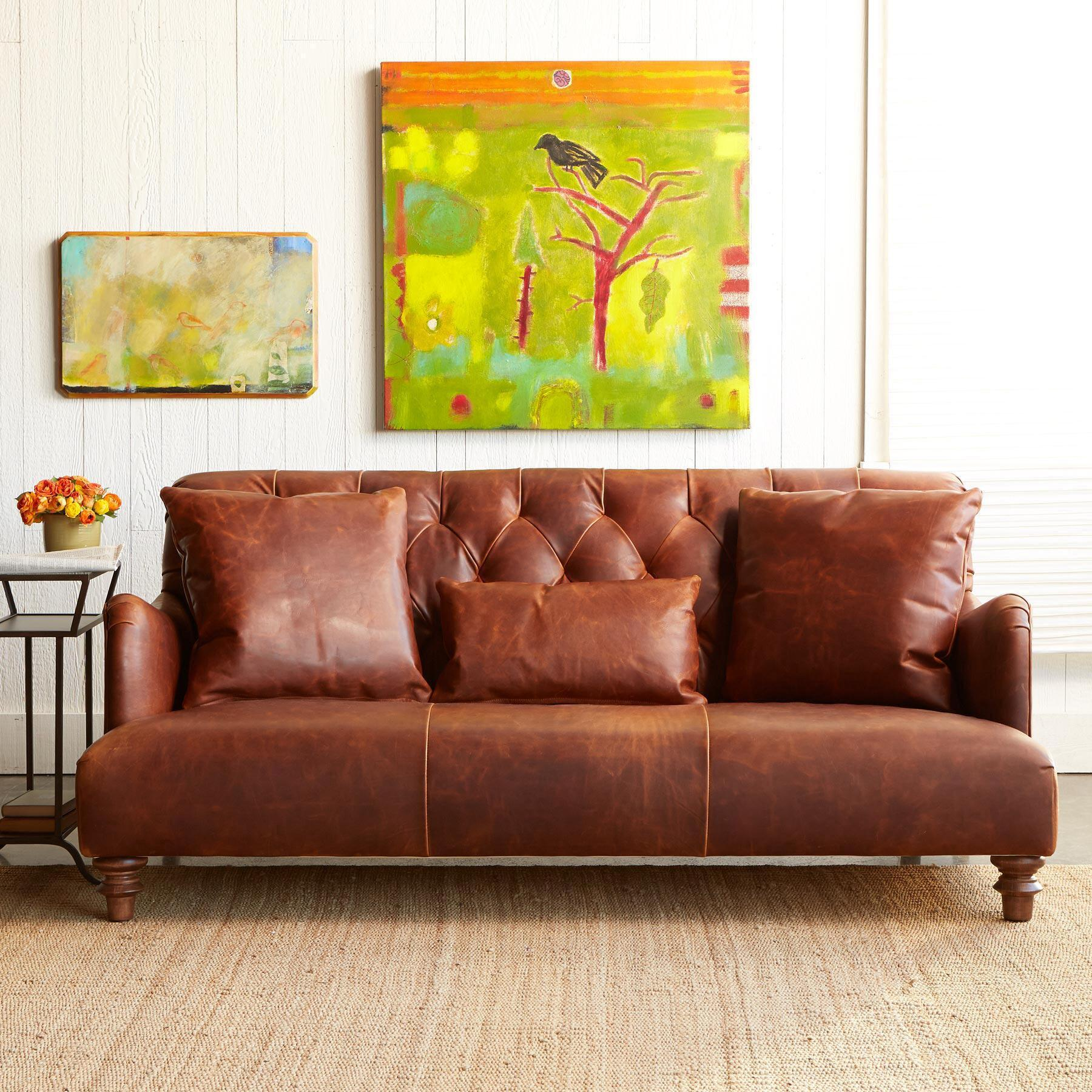 ALCAZAR LEATHER SOFA: View 2