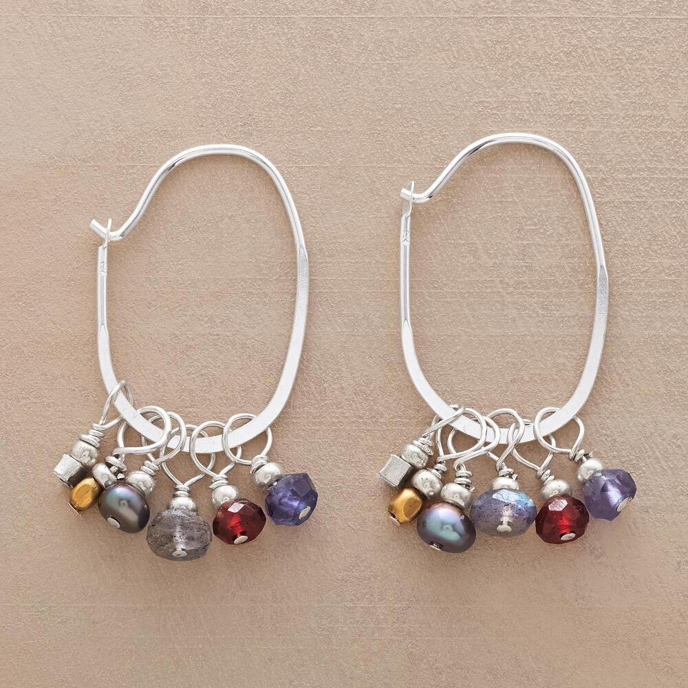VIVANT HOOP EARRINGS: View 1