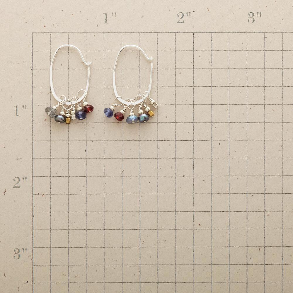 VIVANT HOOP EARRINGS: View 2