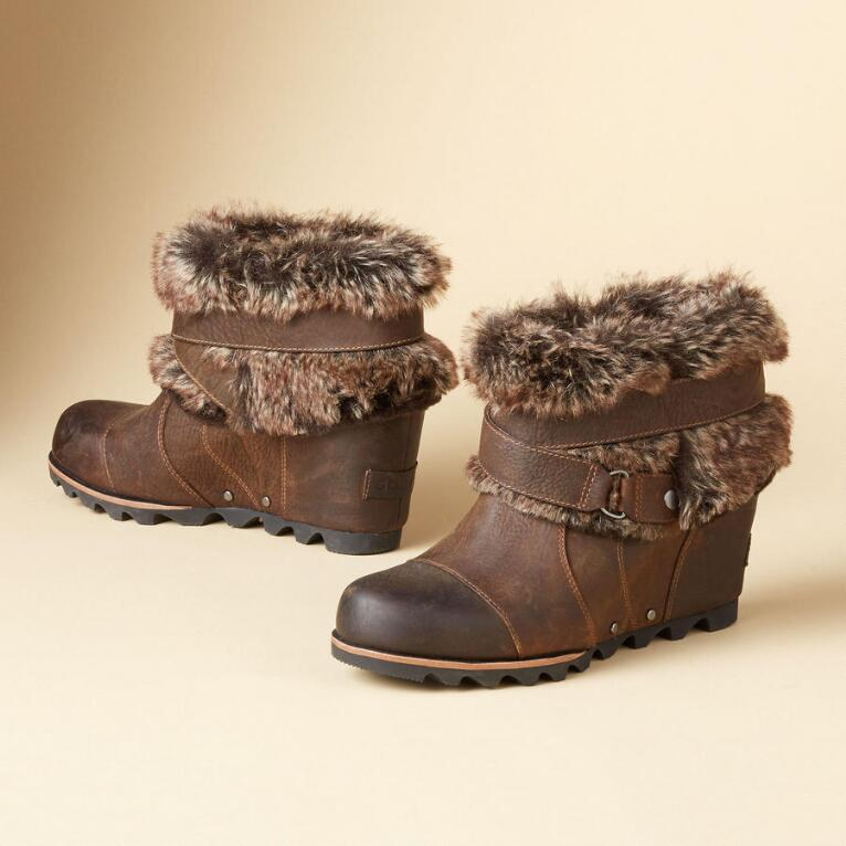 JOAN OF ARCTIC ANKLE WEDGES BY SOREL