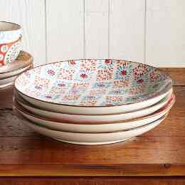 BOHEME DINNER PLATES, SET OF 4