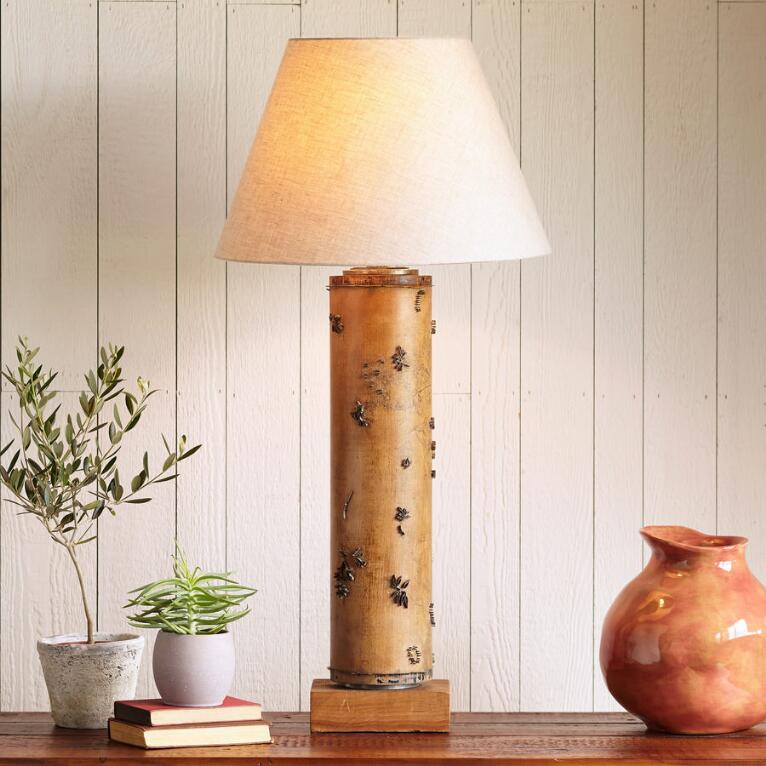 Cardiff Vintage Roller Lamp