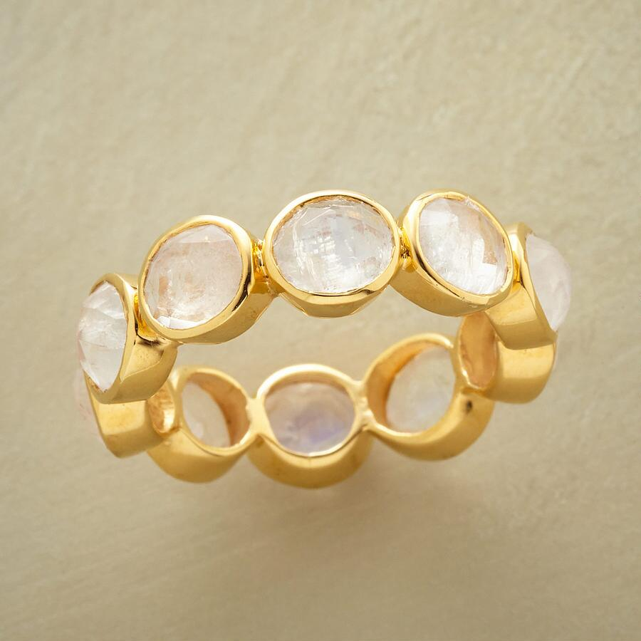 ENDLESS MOONSTONE RING