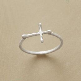 STERLING CROSSWAYS RING