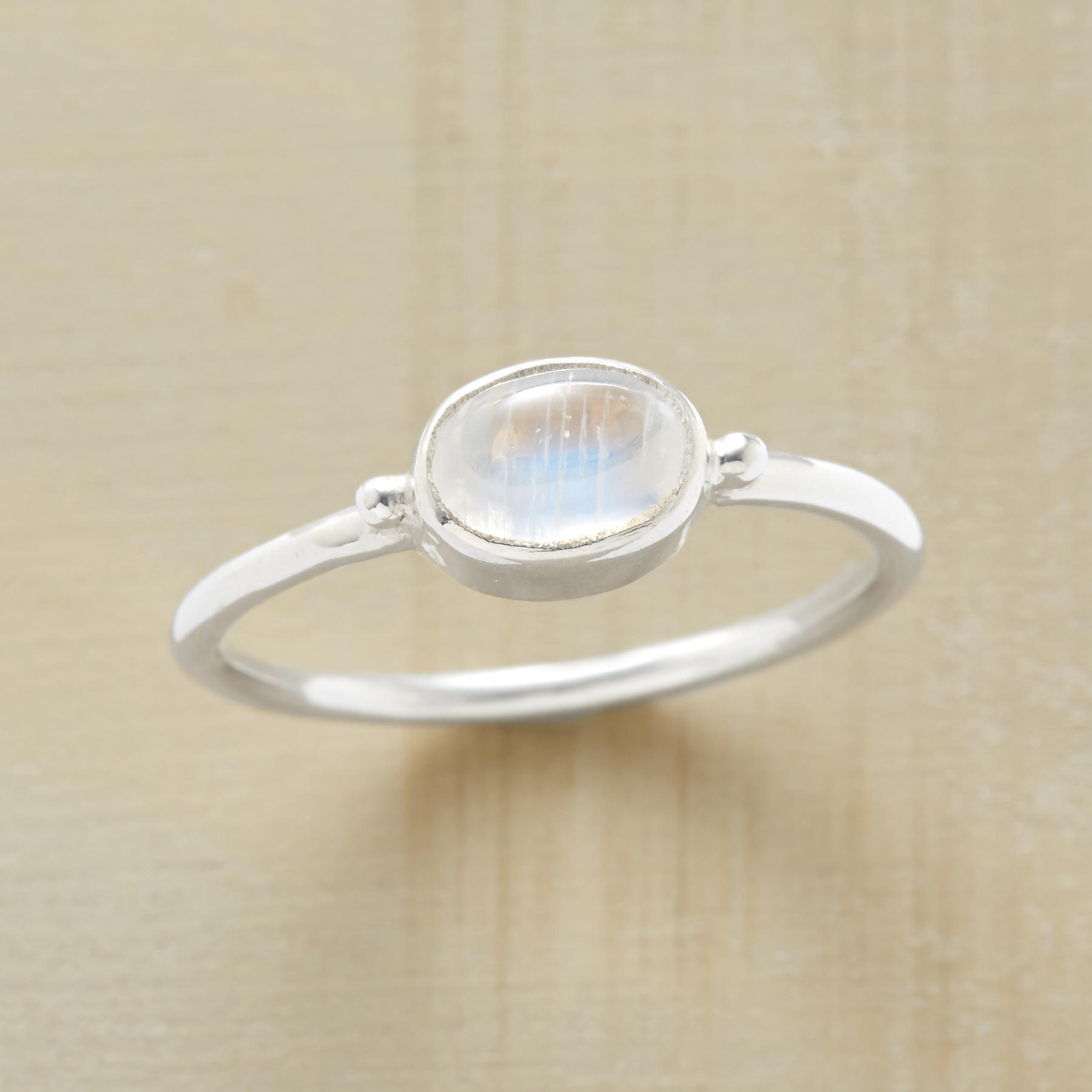 RADIANT MOONSTONE RING: View 1