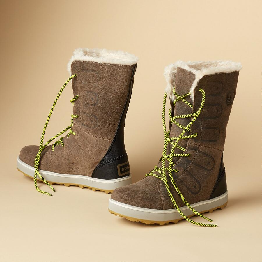 GLACY LACE BOOTS BY SOREL
