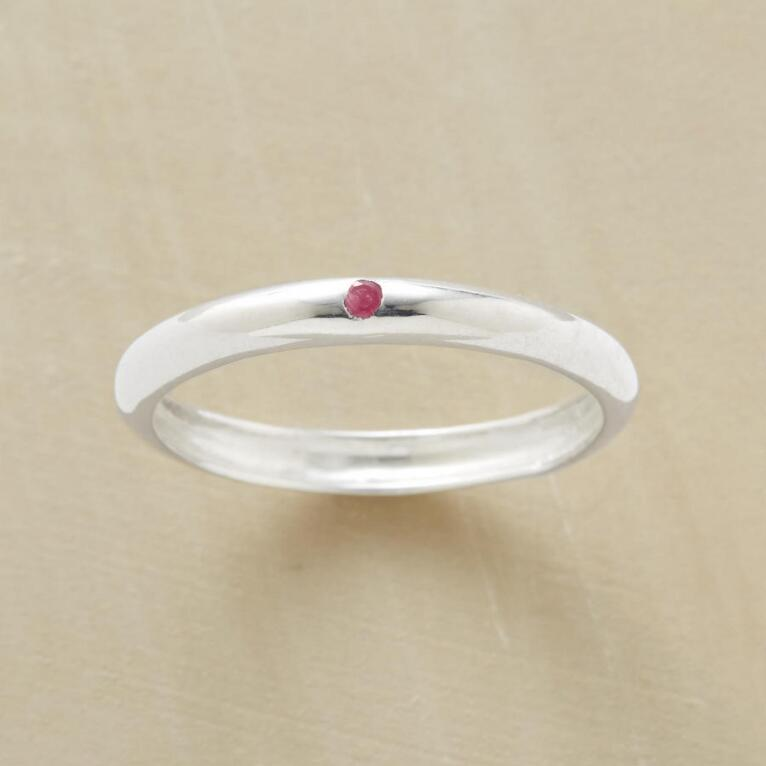 ONE AND ONLY RUBY RING