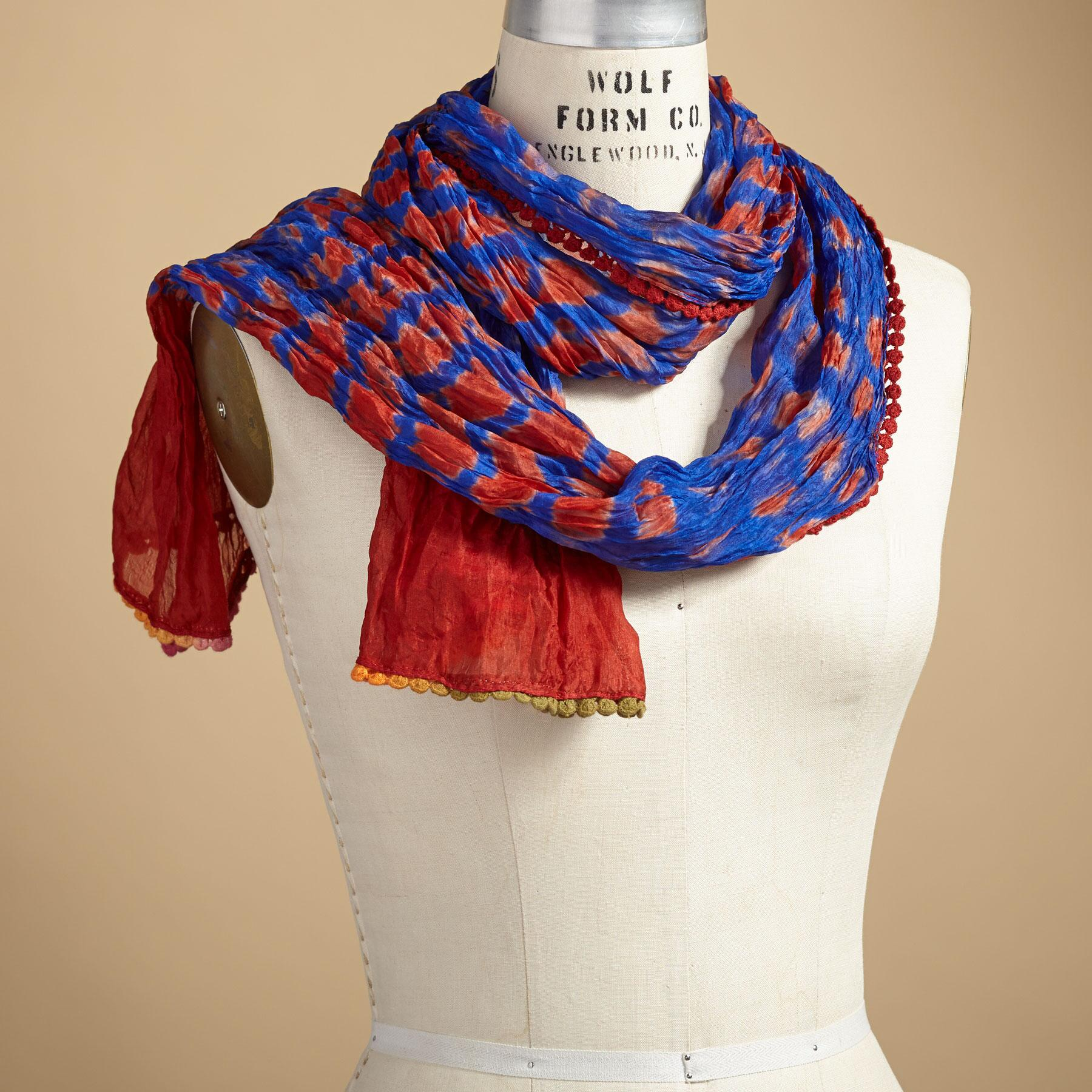 FORGET ME NOT SCARF: View 1