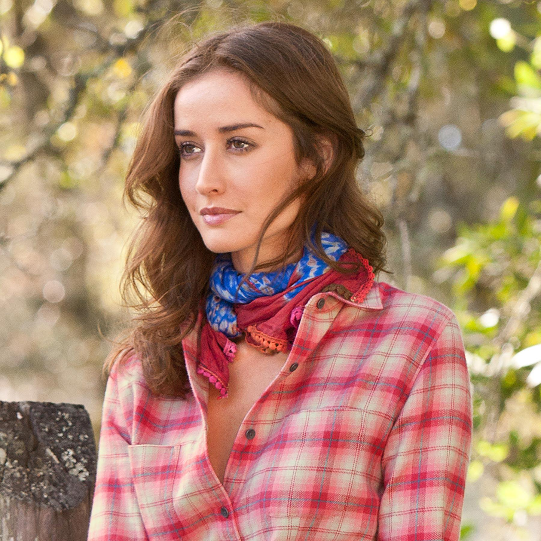 FORGET ME NOT SCARF: View 3