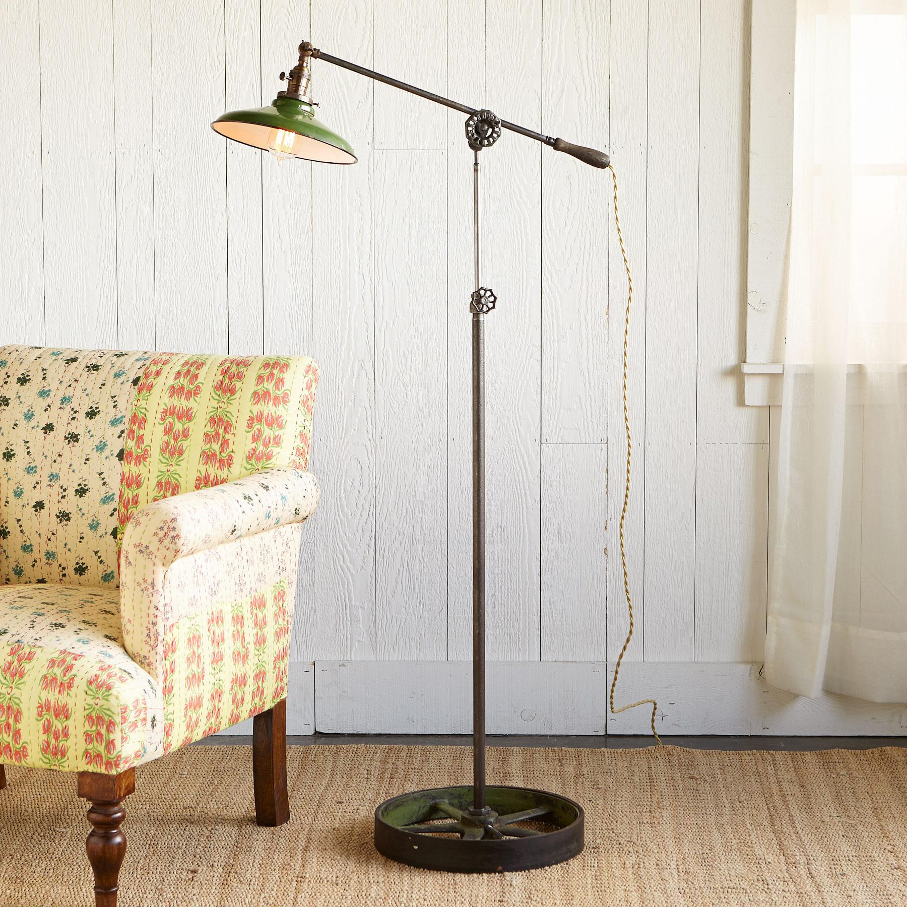 HOMESTEAD STEEL LAMP: View 1