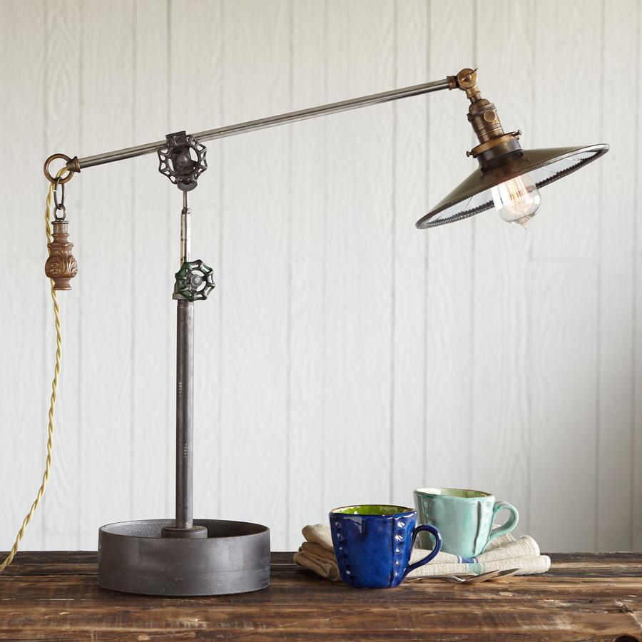 BETHLEHEM STEEL LAMP