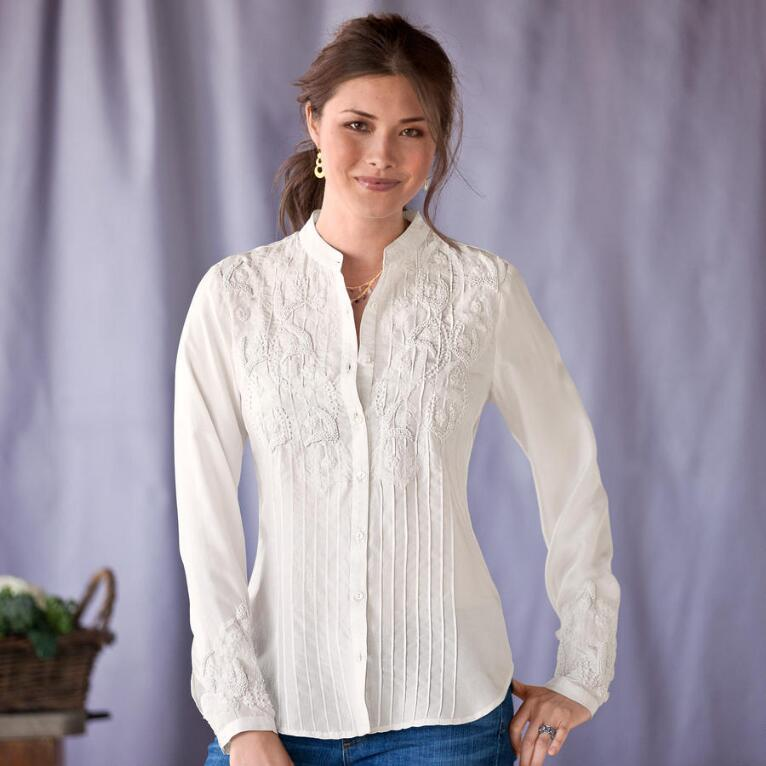 PEARL RIVER BLOUSE