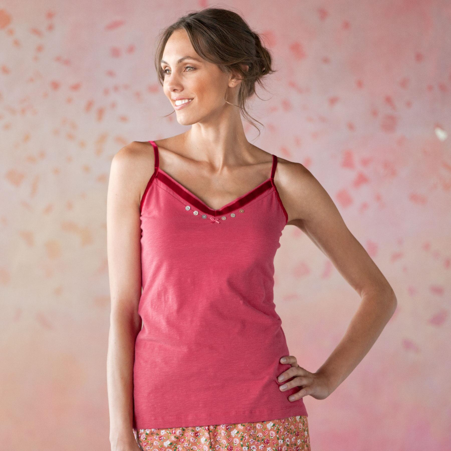 REVERIE SLEEPWEAR-CAMI SOLID: View 1