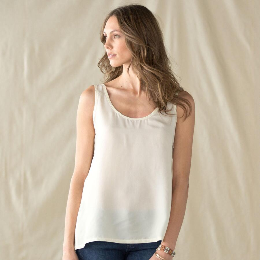 SILK EASE TANK SOLID