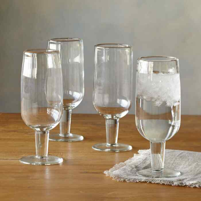 DARBY WATER GLASSES, SET OF 4