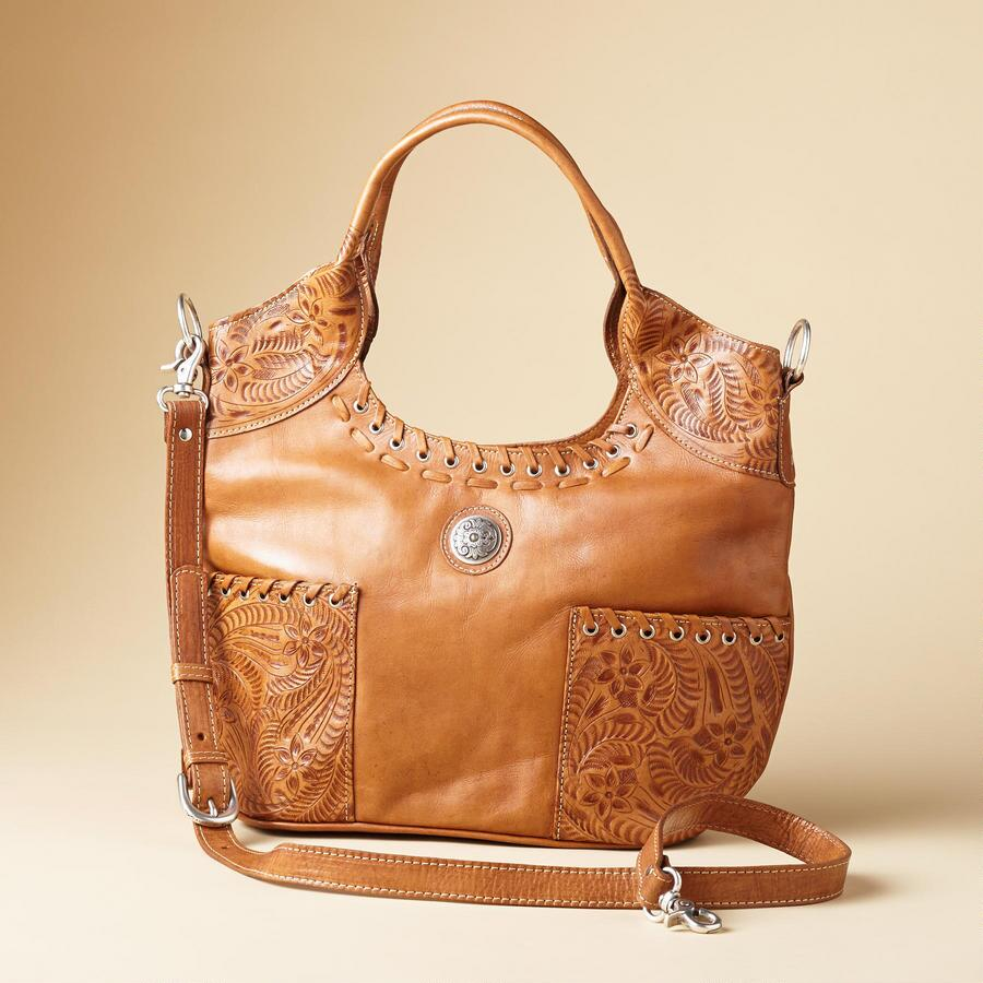 FIONA TOOLED HANDBAG