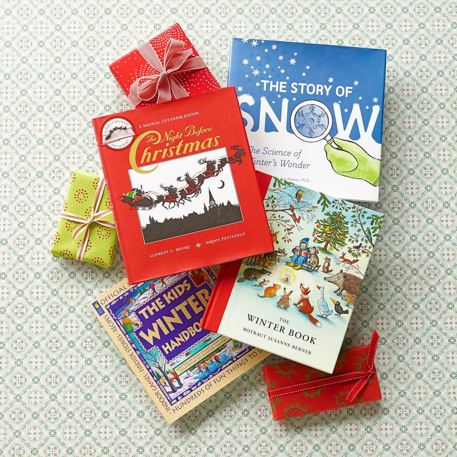 Wintertime Stories, Set Of 4