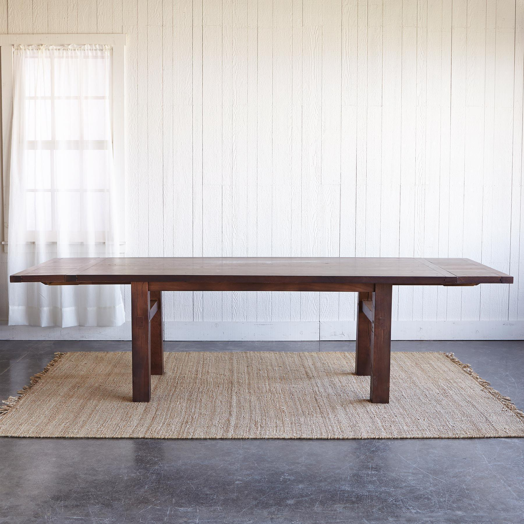 OAKWOOD EXTENSION DINING TABLE: View 3