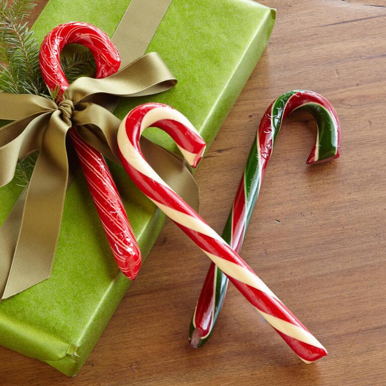 HAMMOND'S CANDY CANES, SET OF 3