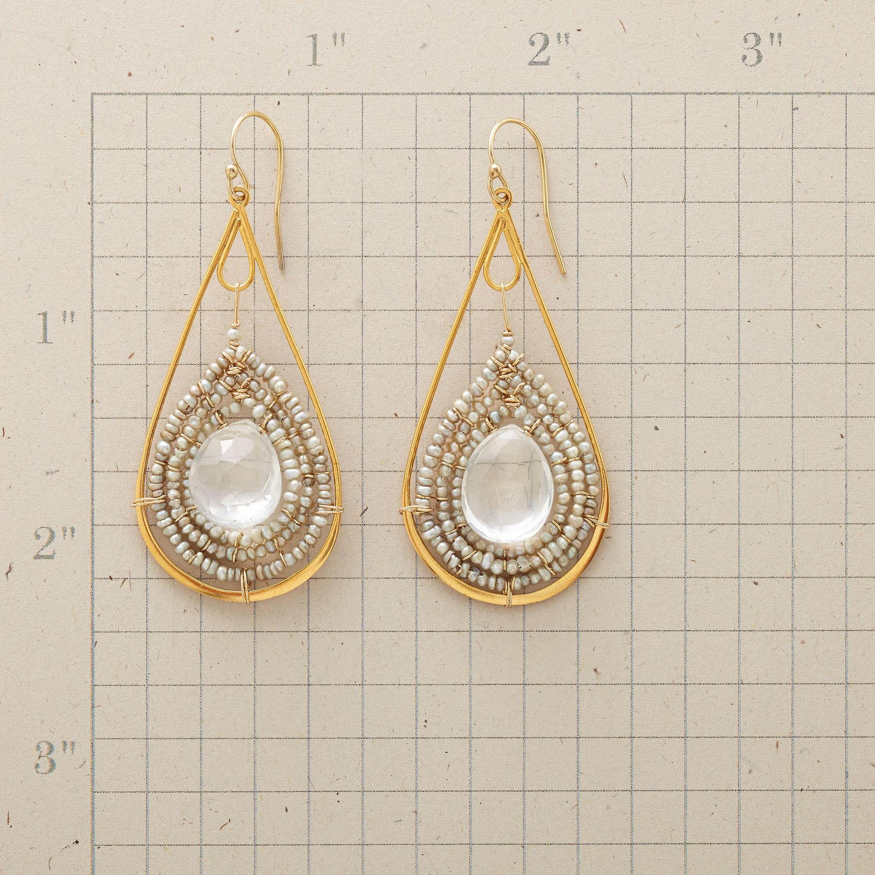 DROPS OF INSIGHT EARRINGS: View 2