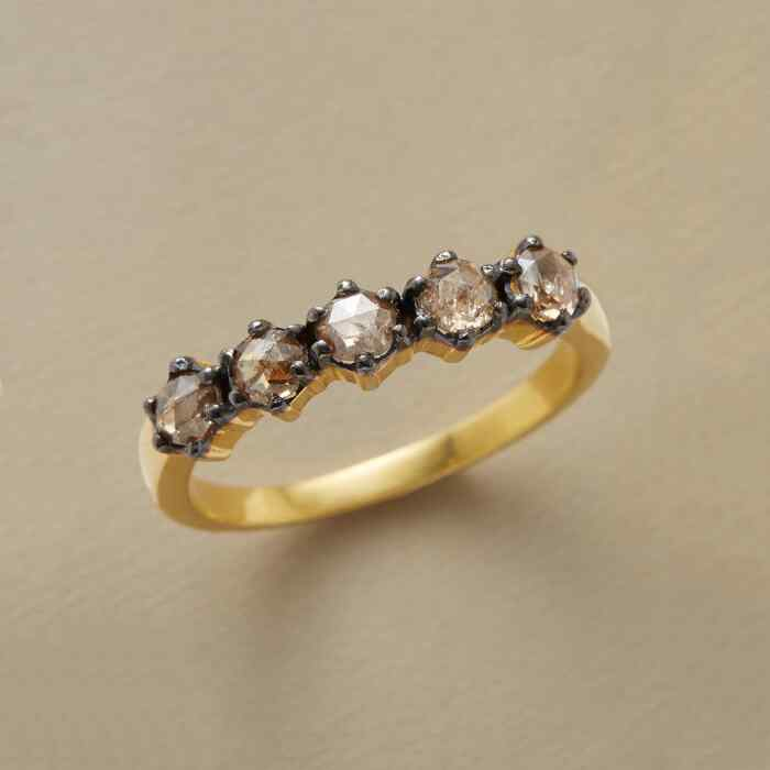 BLACKBEAD DIAMOND RING