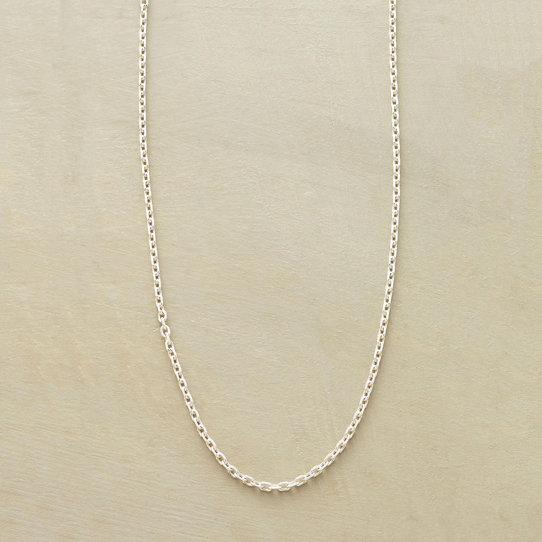 STERLING CHAIN NECKLACE: View 1