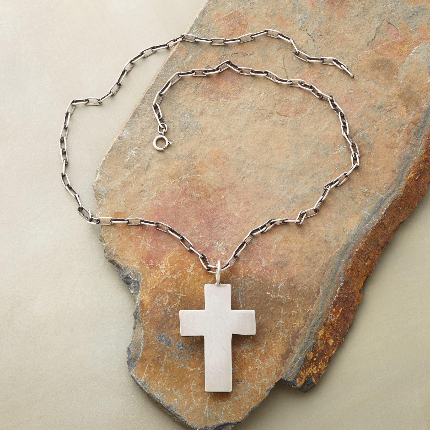 ICONIC CROSS NECKLACE: View 2