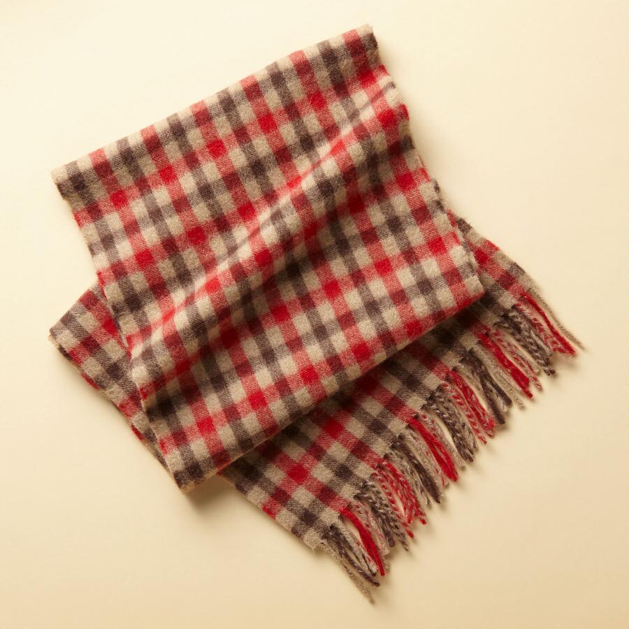 HIGHLANDS PLAID SCARF