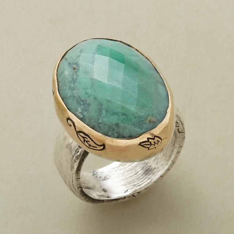 COURAGE & HEART RING