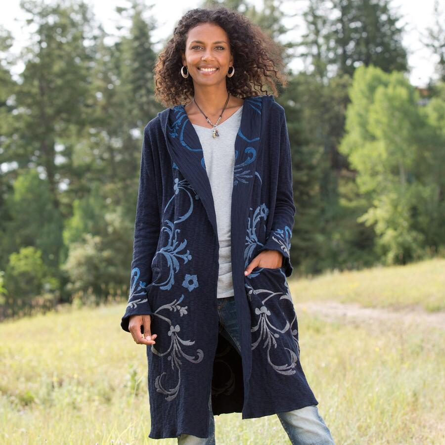 ENCHANTMENT HOODED CARDIGAN