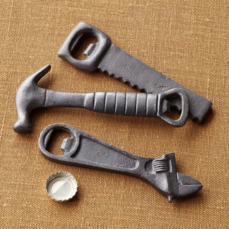 HANDYMAN BOTTLE OPENERS, SET OF 3
