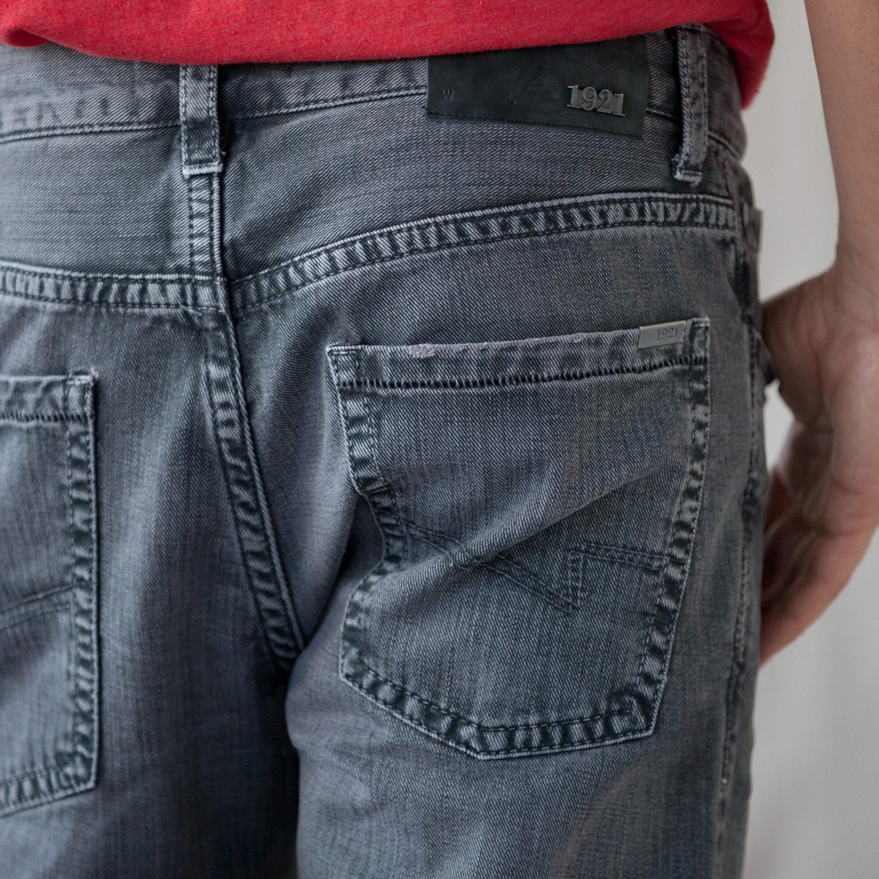 1921 KENT JEANS - STEEL GREY: View 3