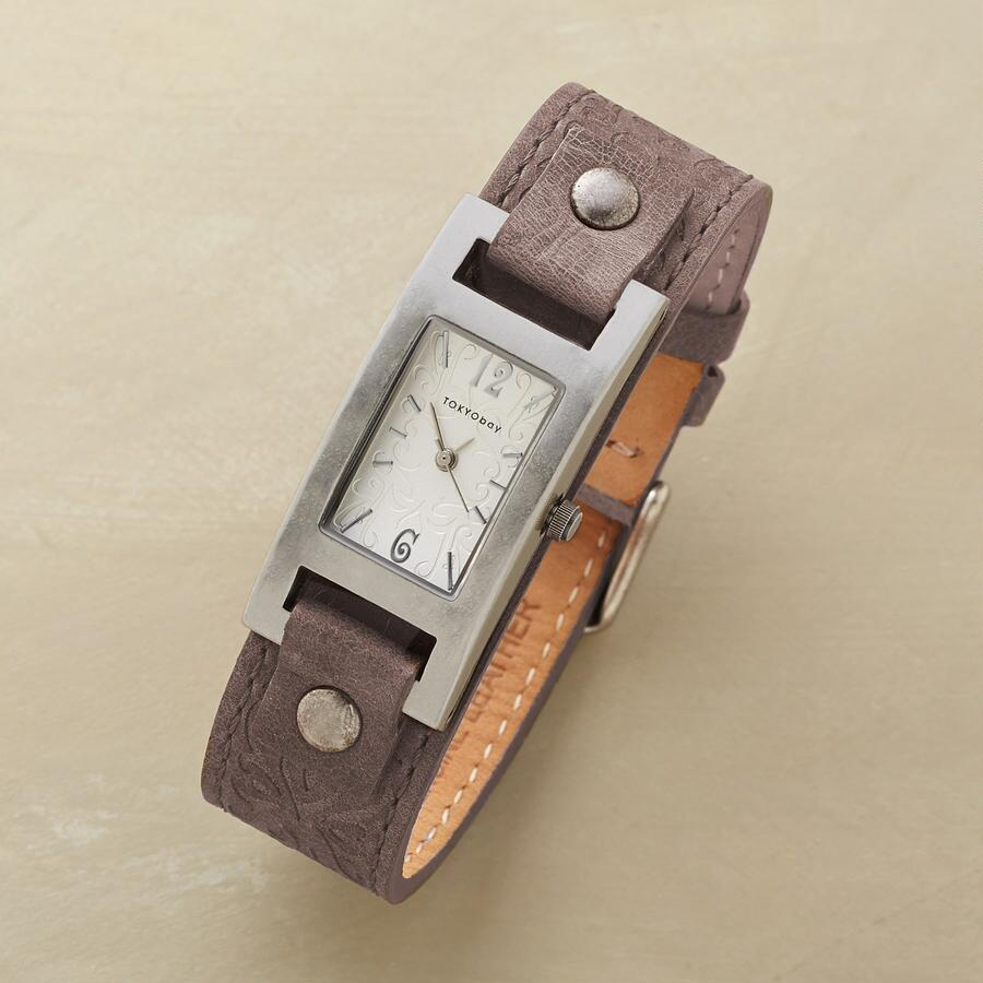 FILIGREE LEATHER WATCH