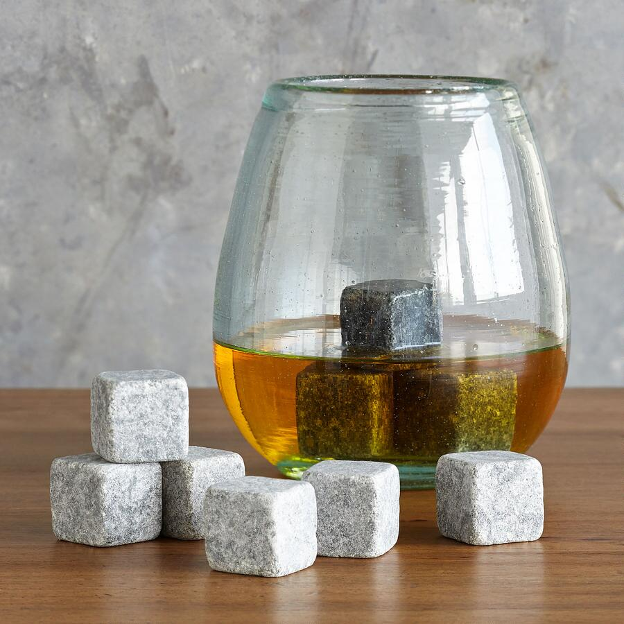 WHISKEY STONES, SET OF 9