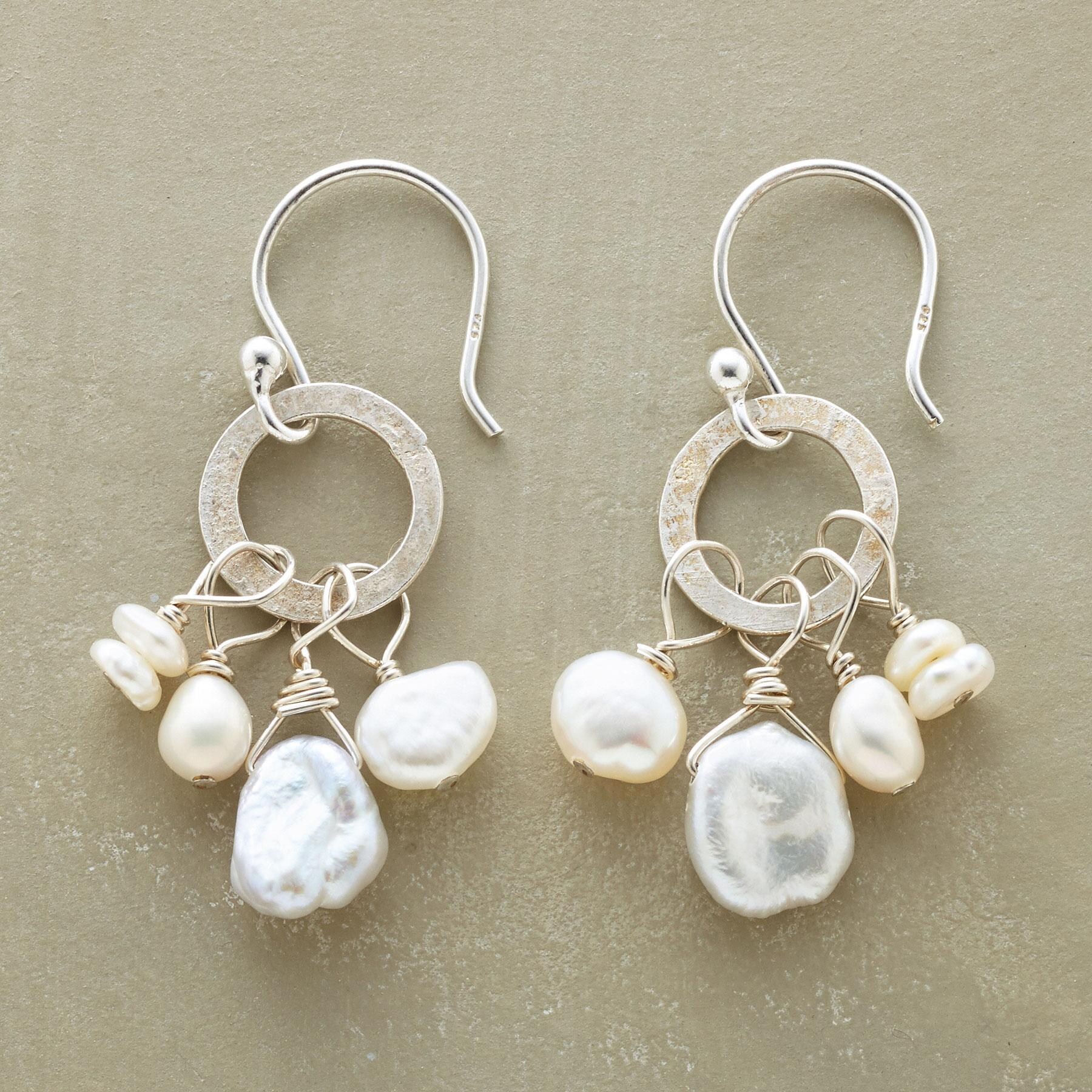 NOUVELLE PEARL EARRINGS: View 1